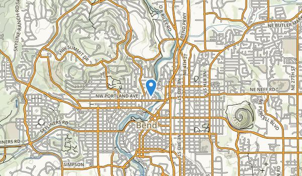 trail locations for Deschutes River Park