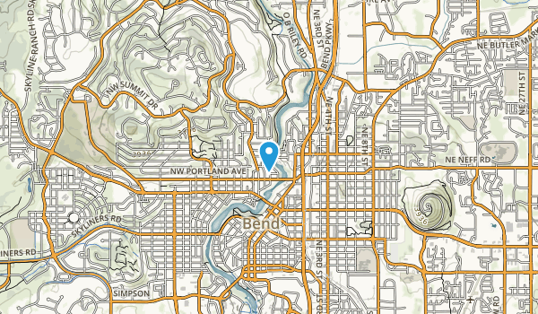 Deschutes River Park Map