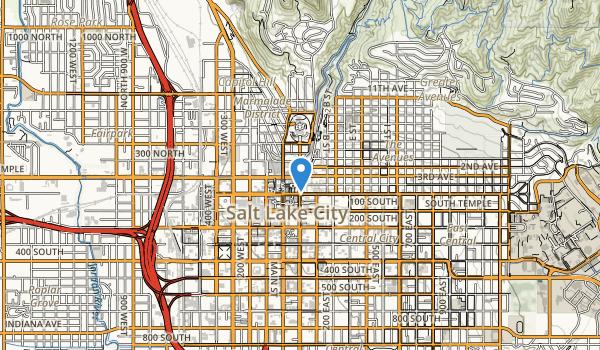 City Creek Park Map