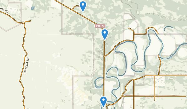 Spruce Woods Provincial Park Map