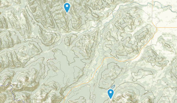 Beaver Mines Lake Provincial Recreation Area Map