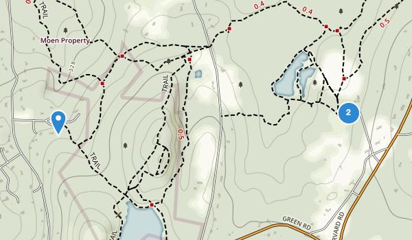 Vaughn Hills Conservation Area Map