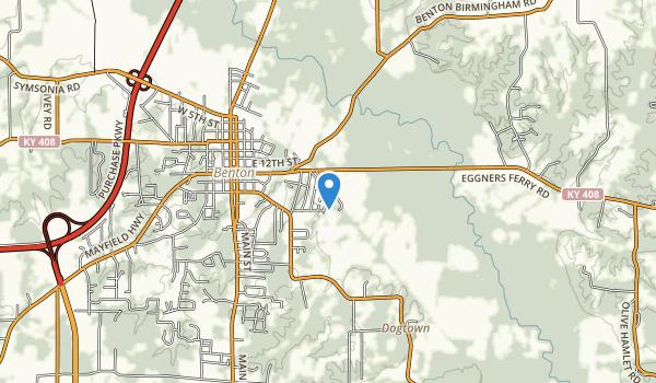 Clarks River National Wildlife Refuge Map