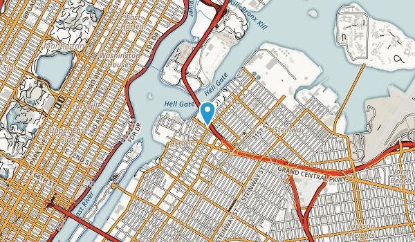 Astoria Park Map