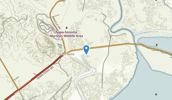 Napa-Sonoma Marshes Wildlife Area Map