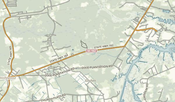 Dungannon Plantation Heritage Reserve Map