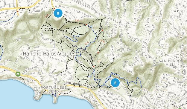 Portuguese Bend Reserve Map
