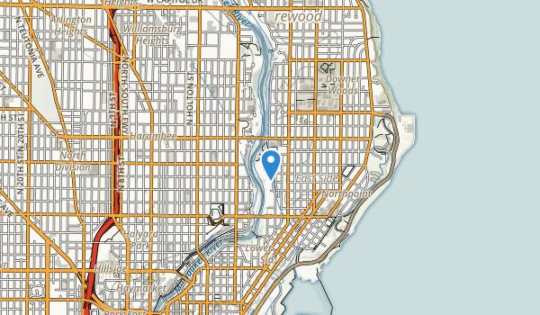 Riverside Park Map