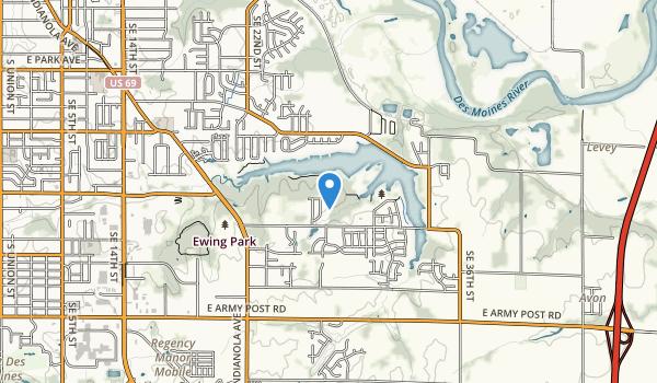 Easter Lake Park Map