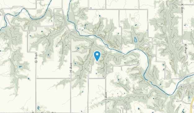 Kuehn Conservation Area Map