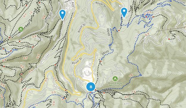 Map of Trails near Deer Valley Resort - Utah | AllTrails Deer Valley Resort Map on