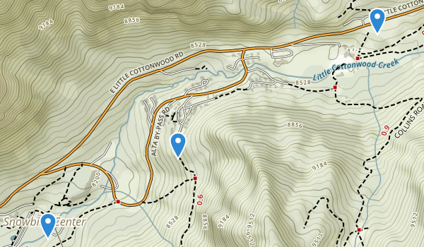 Snowbird Ski Resort Map