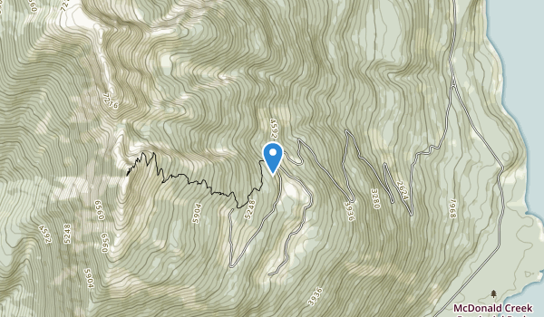 trail locations for Monashee Mountain