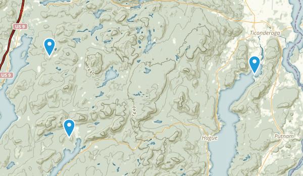 Pharaoh Lake Wilderness Map