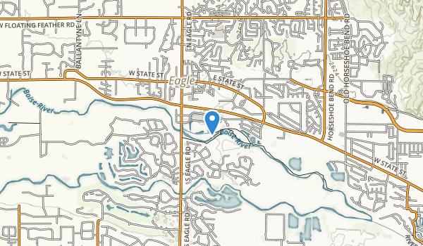 Reid W. Merrill Sr. Community Park Map