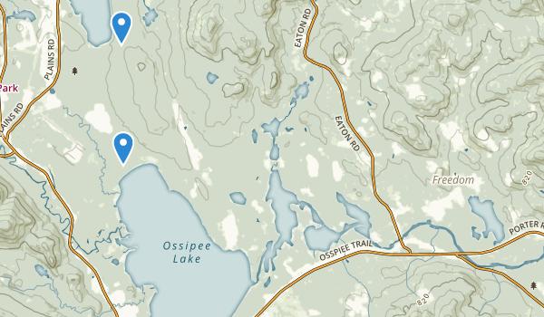 Ossipee Pine Barrens Map
