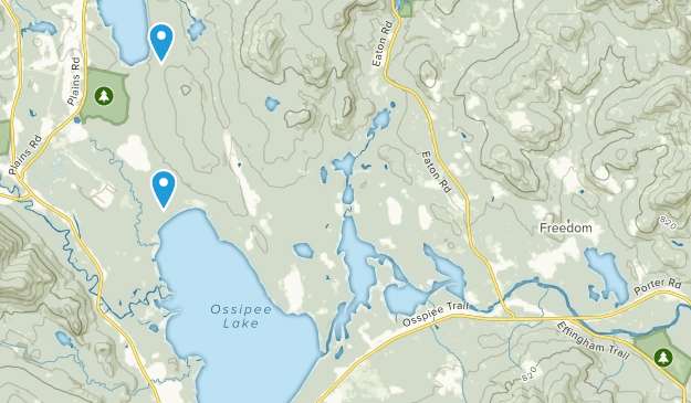 Ossipee Pine Barrens Map