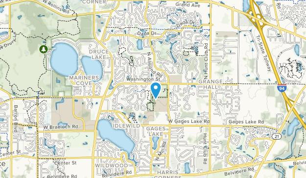 Warren Township Center Map