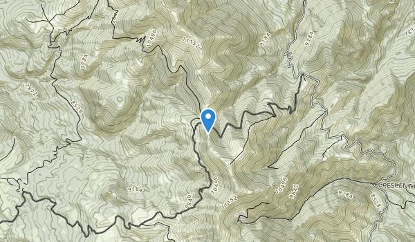 trail locations for Mount Ellen-Blue Hills Wilderness Study Area