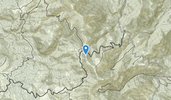 Mount Ellen-Blue Hills Wilderness Study Area Map
