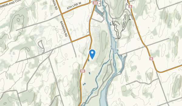 Seymour Conservation Area Map