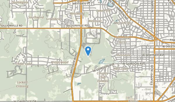 Willson Hospice House Map