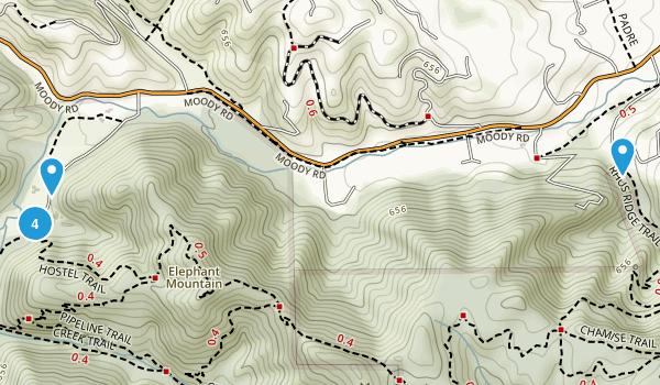 Hidden Villa Map