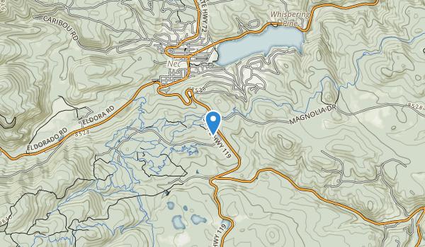 West Magnolia Recreation Area Map