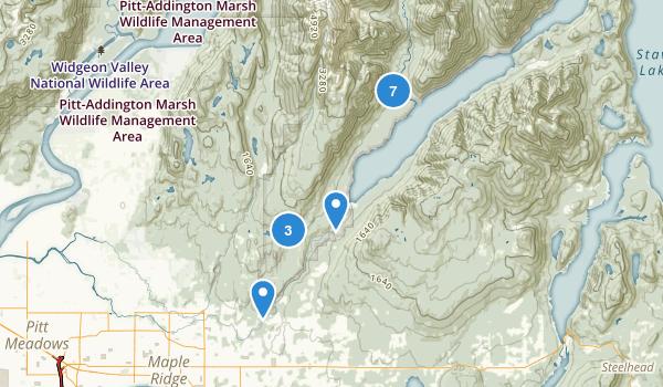 Golden Ears Provincial Park Map