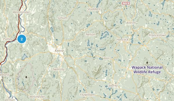 Ruth C. Warwick Preserve Map