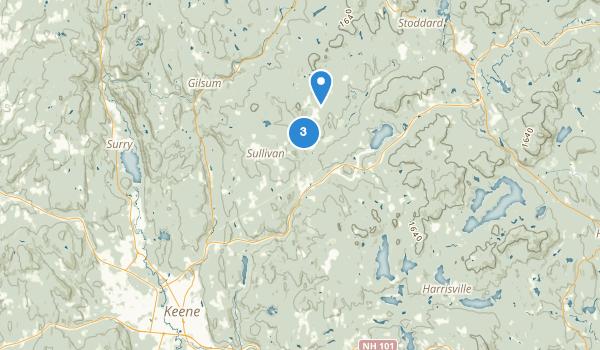 Otter Brook Preserve Map