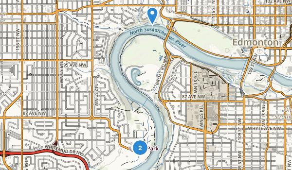 Buena Vista Park Map