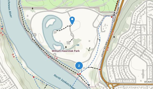William Hawrelak Park  Map