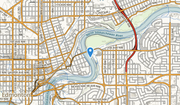 trail locations for Forest Heights Park