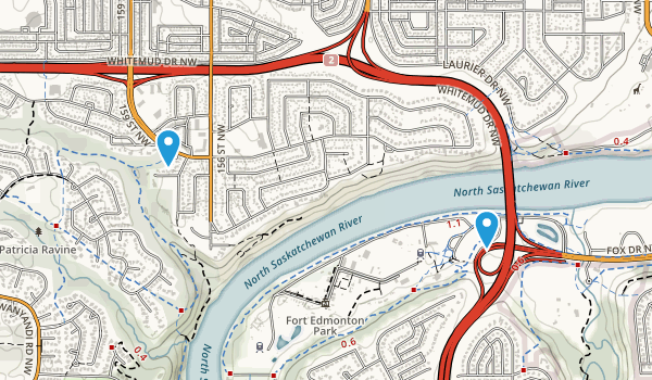 Fort Edmonton Park Map