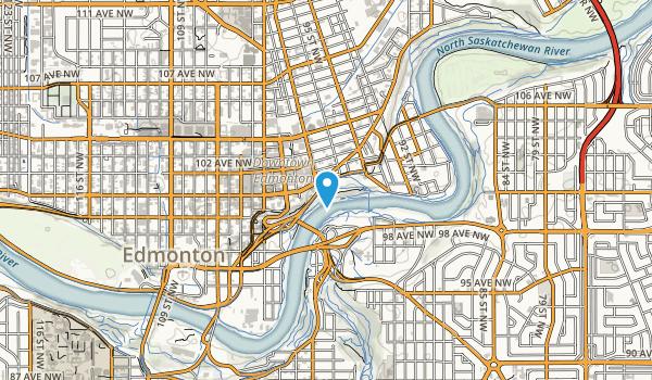 Louise McKinney Riverfront Park Map