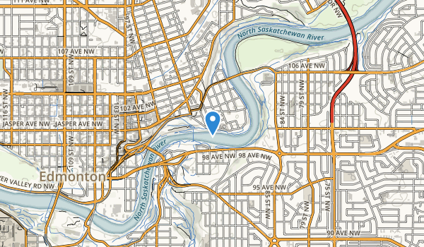 trail locations for Riverdale Park