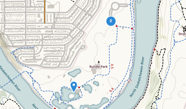 trail locations for Rundle Park