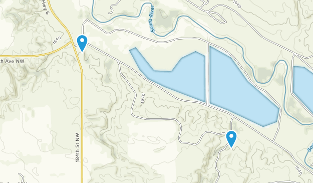 Beste Wege in Upper Souris National Wildlife Refuge - North ...