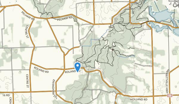 trail locations for Short Hills Provincial Park