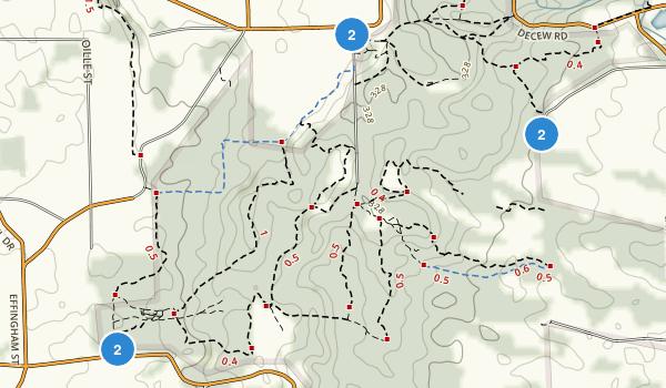 Short Hills Provincial Park Map