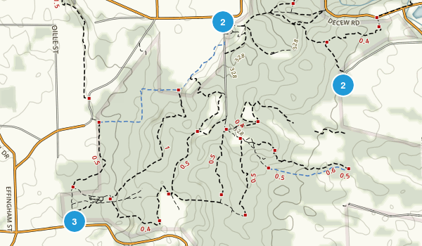 Short Hills Provincial Park Map
