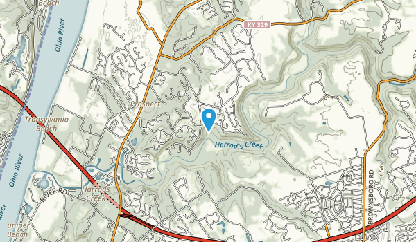 Harrods Creek Park Map