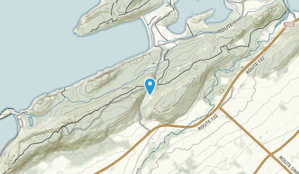 Parc National du Bic Map