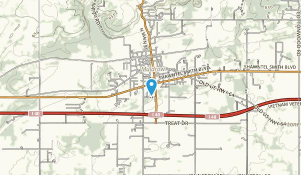 Muldrow City Park Map