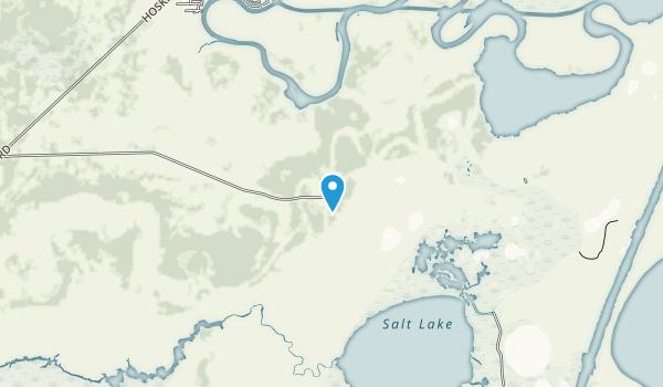 Brazoria National Wildlife Refuge Map
