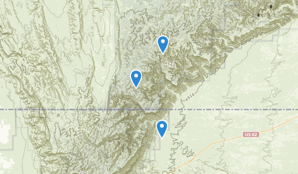 Lincoln National Forest Map