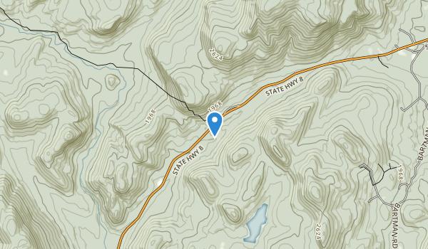 Siamese Ponds Wilderness Map