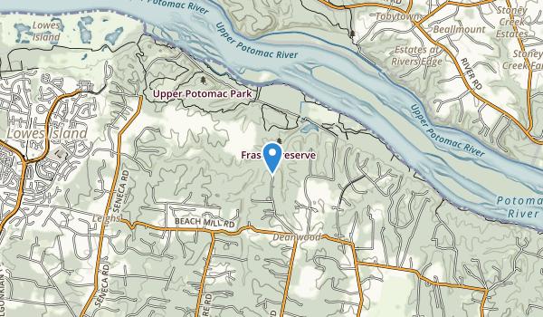 Fraser Preserve Map