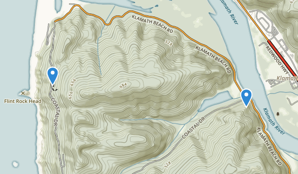 Hoopa Valley Indian Reservation Map
